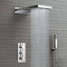 How To Work Shower Faucets Best 25 Waterfall Shower Ideas On Pinterest Rain Shower