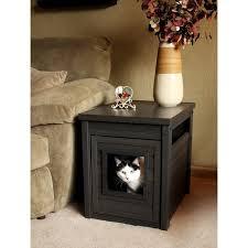 litter box side table ecoflex litterbox litter loo cat cabinet
