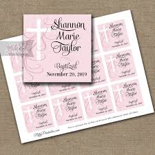 baptism favor tags blue or pink baptism favor tags swirly nifty printables