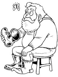 santa boots coloring pages bltidm