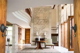 Balinese Style Bungalow In Kuala bali style interior design elegant pool beside terrace two storey