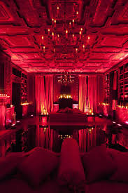 Red Room by Would Love To Decorate With Burlesque Style For The Home