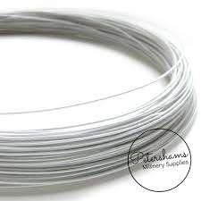 millinery wire 1mm cotton covered millinery wire petershams millinery supplies