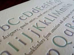49 stunning exles of letterpress printing webdesigner depot