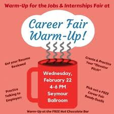 Get Your Resume Reviewed Daily Eagle Warm Up For The Jobs U0026 Internships Fair At The