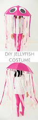 easy diy pink jellyfish halloween costume for kids make this