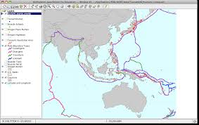 Plate Boundaries Map Part 2 U2014launch Aejee And Investigate Tsunami Patterns