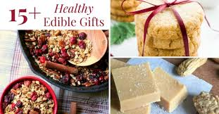 edible gifts 15 healthy edible gifts thrifty t s treasures