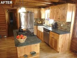 cabin kitchens ideas log cabin kitchen ideas elrincondemama co
