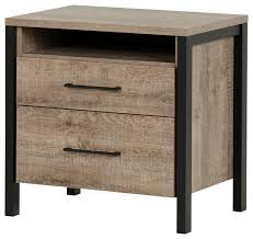 south shore munich 2 drawer night stand farmhouse nightstands