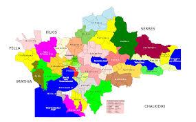 greece map political file thessaloniki prefecture greece political map simplified
