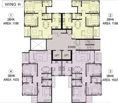 1188 sq ft 2 bhk 2t apartment for sale in house of hiranandani