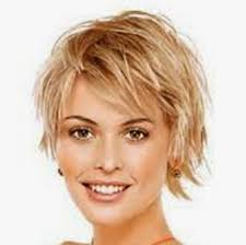 shag hairstyle for fine hair and round face short layered hairstyles fine hair for and round this funky do