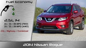 nissan rogue gas mileage 2015 2014 2015 nissan rogue detailed review and road test youtube