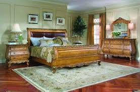 legacy classic versailles leather sleigh bedroom collection b625