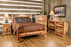 Log Bedroom Furniture Barnwood Bedroom Set Country Furniture Rustic Wood Nightstand Near