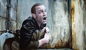 Oil Painting Meme - trainspotting oil painting cross post from art rebrn com