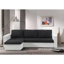 canapé convertible noir et blanc canapé convertible noir et blanc pas cher maison et mobilier d