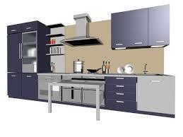 Model Kitchen Single Line Kitchen Cabinet 3d Model Kitchens Pinterest