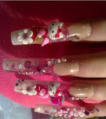hello kitty nail art latest design hello kitty nail art diamond