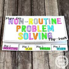 Working Backwards Problem Solving Worksheet Non Routine Problem Solving U2022 Got To Teach