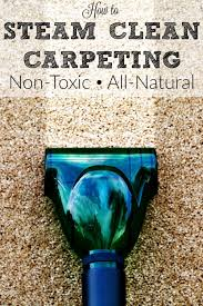 How Long Does Wet Carpet Take To Dry How To Steam Clean Carpeting Housewife How To U0027s