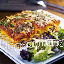 info recette cuisine lasagnes végétariennes sans gluten au potimarron cuisine bio