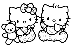 top coloriage hello kitty