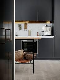 cuisine noir mat et bois noir mat et bois élégance et sobriété