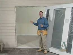 Fitting Patio Doors How To Prepare To Install New Patio Doors
