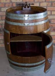 bar bathroom ideas best 25 wine barrel sink bathroom ideas on wine