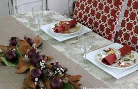 simple diy napkin rings and thanksgiving tablescape hoosier