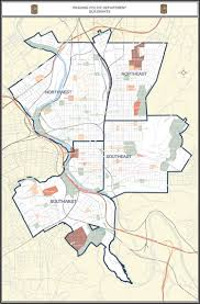 Pennsylvania On A Map by Police Department Quadrants City Of Reading Pennsylvania