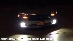 2012 dodge charger fog light bulb dodge charger diode dynamics led fog lights 6000k 1420 lumen