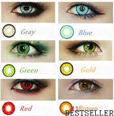 color contact lenses 7 colors color contacts lenses
