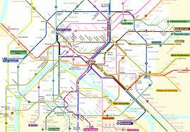 Map Letters Central Paris Metro Map About France Com