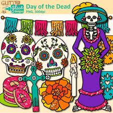 dia de los muertos sugar skulls of the dead clip dia de los muertos sugar skull skeleton