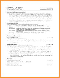 Software Engineer Sample Resume How Should A Professional Resume Look What Your Resume Should