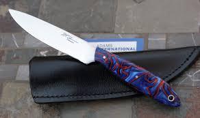 Unique Kitchen Knives Handmade Maker Designed Adams International Knifeworks