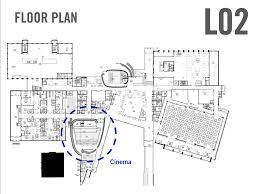 cinema floor plans conceptualizations floor plans and comparisons university of