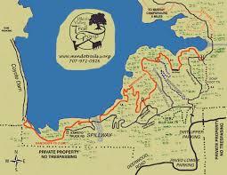 map ukiah lake mendocino trails ukiah valley trail