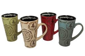 more latte mug set community coffee