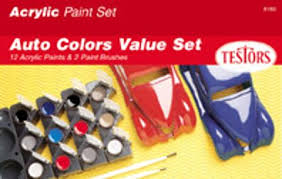 hobby and model paint sets