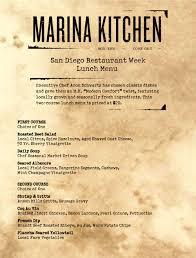 thanksgiving dinners in san diego marina kitchen u0027s san diego restaurant week 3 course dinner menu