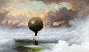 Seeking Balloon Episode File A Balloon In Mid Air By Jules Tavernier 1875 Jpg