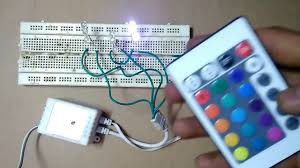 remote control led strip lights how to make rgb led strip remote control circuit part 1 youtube