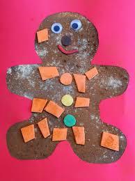 christmas craft for kids scented gingerbread man art men art