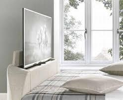 Ottoman Tv Bed Mw Kaydian Design Barnard 4ft 6 Double Ottoman Tv Bed Oatmeal