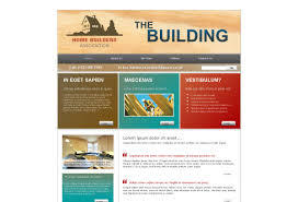 home builders construction web template pack from serif com
