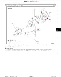 infiniti qx56 uk 2005 infiniti qx56 steering wheel column adjustment etc